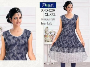 Ready at store - Kavya Pearl K3250 A-Line Kurti - 4 Pieces Set