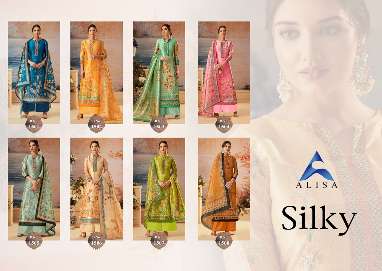 Buy Silky Alisa Suits Catalog Online Wholesaler Lowest Price